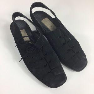 Vintage Jones New York Sport Black Sandals